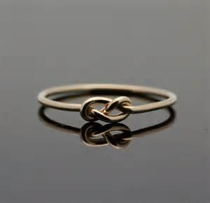 Infinity Ring Gold Gold Infinity Ring Solid 14k Gold Knot Ring By