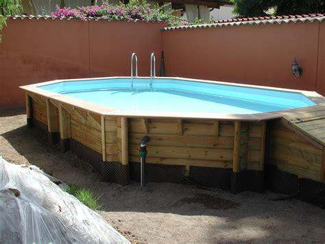 legno senza permesso piscine fuori terra in legno vendita installazione