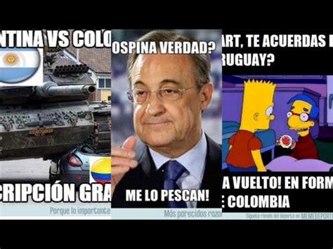 Colombia Meme - argentina vs colombia los memes que dej 243 el partido