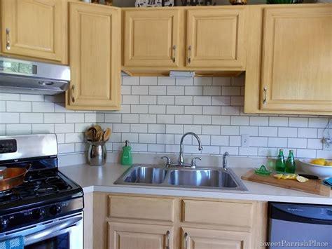 replacing kitchen backsplash how to painting tile backsplash