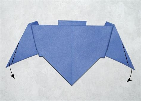 Origami Batman Batarang - how to make batman origami batarang by folderoffett ihow4us