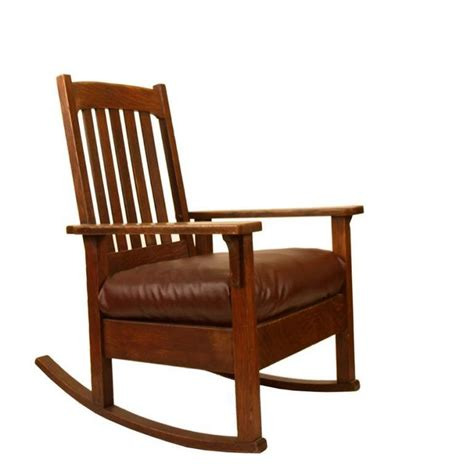 Style Rocking Chair - mission style oak rocking chair lake living