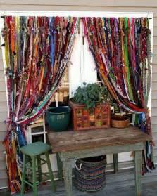 Boho Window Curtains Boho Handmade Home Decor