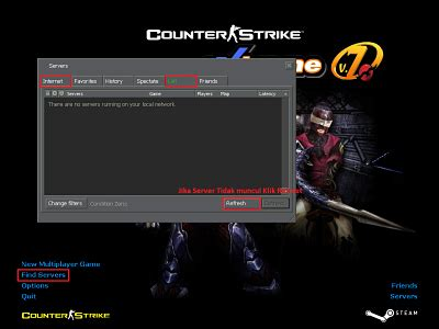 cara membuat jaringan lan untuk counter strike cara membuat dan masuk kedalam server pada game counter