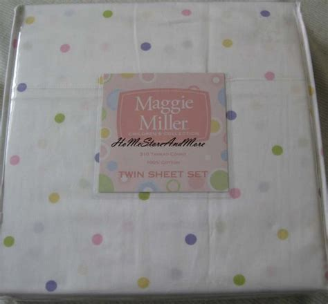 maggie miller bedding maggie miller polka dots twin sheet set cotton 310 thread