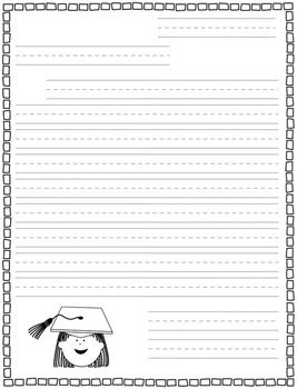 primary letter writing paper primary letter writing paper freebie by jd s rockin