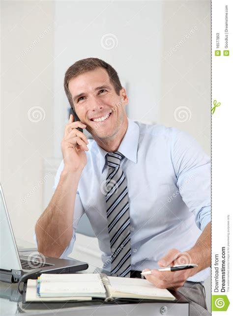 The Office Traveling Salesman by Salesman On The Phone Stock Photos Image 16577853