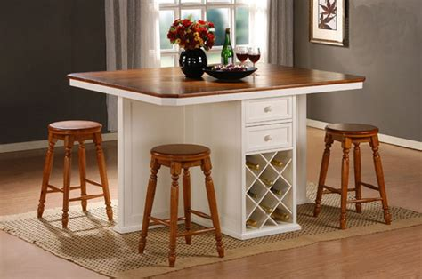 High Table And Stools For Kitchen Kitchen Fascinating High Kitchen Table With Stools Or Regular Dining Table Photos High