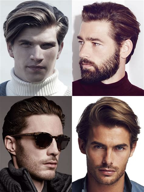 diamond face men haircut male hairstyles for diamond face shapes hairstyles