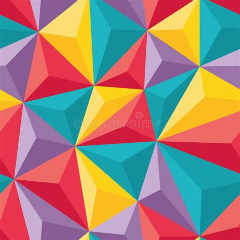 abstract pattern for project abstract seamless background with relief triangles
