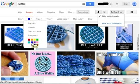 blue colored waffle the proper way to look for pictures of blue waffles by