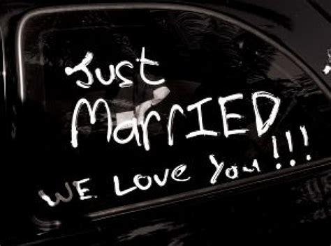 Just Married Auto Kostenlos by Just Married Der Kostenlosen Fotos
