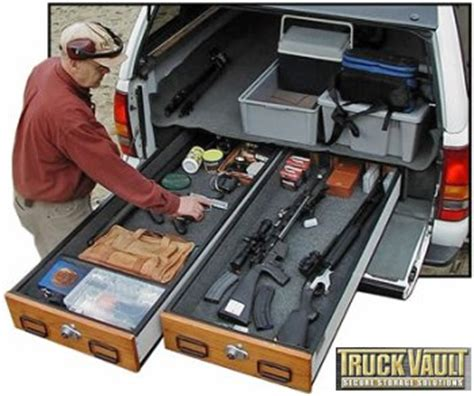 truck bed gun safe zombie squad view topic trunk guns only