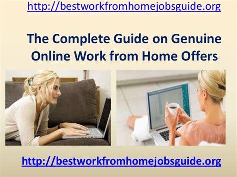 Online Job Opportunities Work From Home - work from home internet jobs opportunities