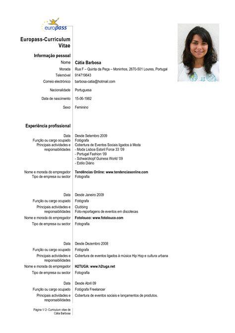Modelo Cv Europeo Portugues Como Fazer Um Curr 237 Culo Detalhes Que Fazem A Diferen 231 A