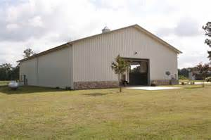 Steel Barns 66 X 100 Metal Home With Attached Barn