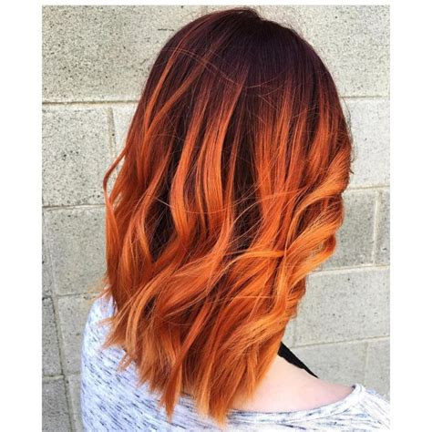 orange hair color best 25 orange hair colors ideas on orange