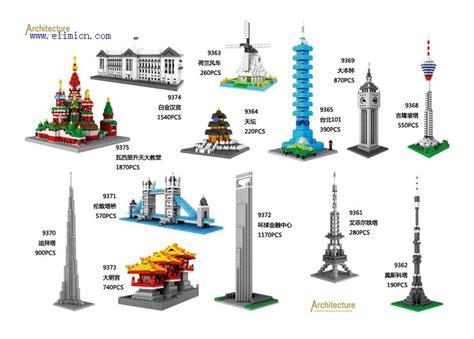 Mainan Eiffel Tower Loz 9361 loz blocks architecture series