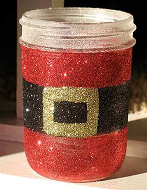 22 quick and cheap mason jar crafts filled with holiday