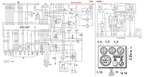 volvo penta instrument panel wiring diagram wiring