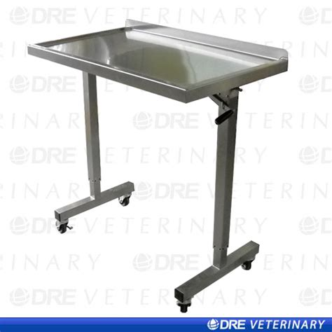 Telescoping Table by Dre Over Instrument Table