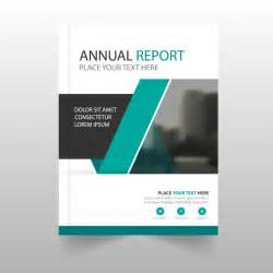 Cover Page For Annual Report Template report cover vectors photos and psd files free download