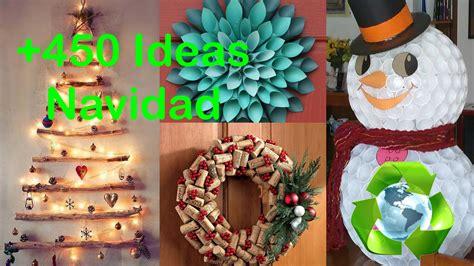 ideas navidad decoraci 243 n navidad ideas reciclando decor christmas