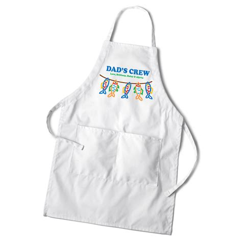 personalized aprons for dads and grandpas