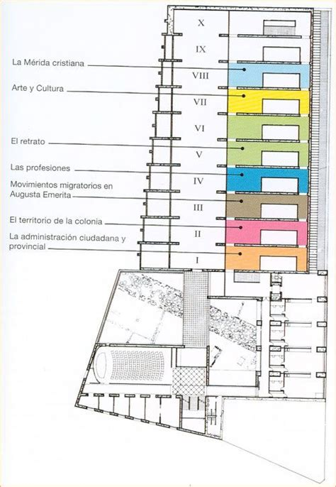 Plan Merida by Moneo Merida Planta Segundag Jpg 500 215 724 The Space