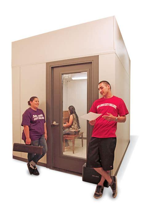 isolation room soundlok sound isolation rooms wenger corporation