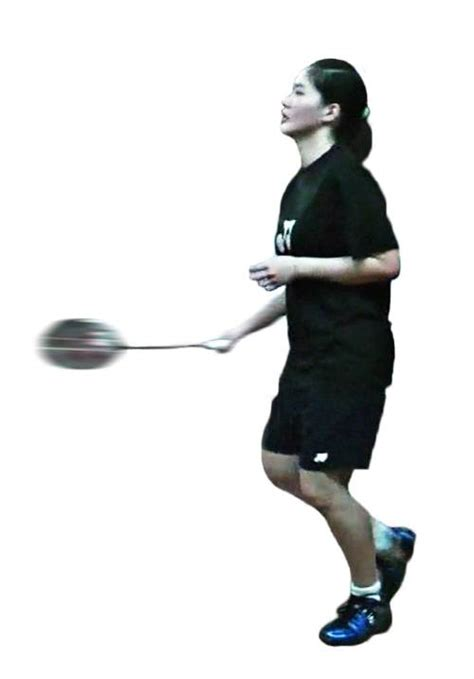 badminton swing technique badminton underarm forehand stroke