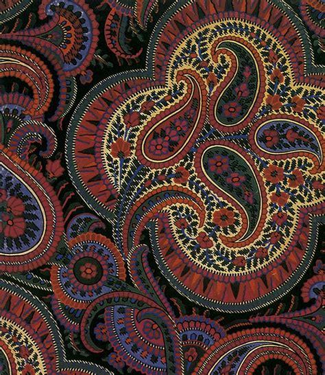 paisley pattern history history not fashion style