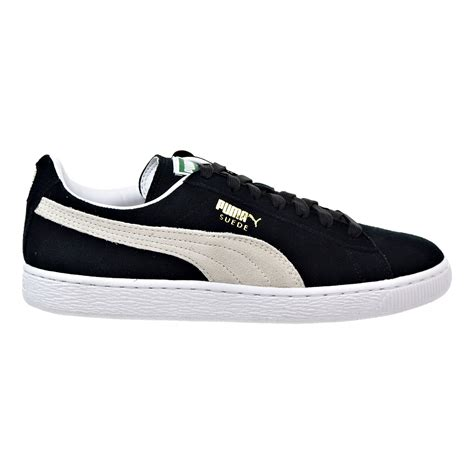 white mens sneakers suede classic s sneakers black white 352634 03 ebay