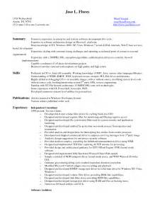 entry level software developer resume sle software sales resume sles enterprise best free