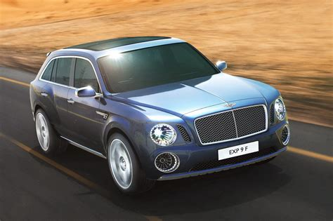 bentley exp 9 f suv concept autoevolution