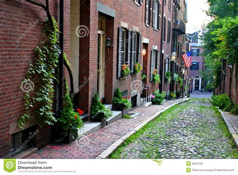 beacon hill boston royalty free stock image image 4244746