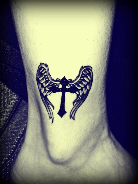 celtic cross with wings tattoo 70 best loving these wings images on