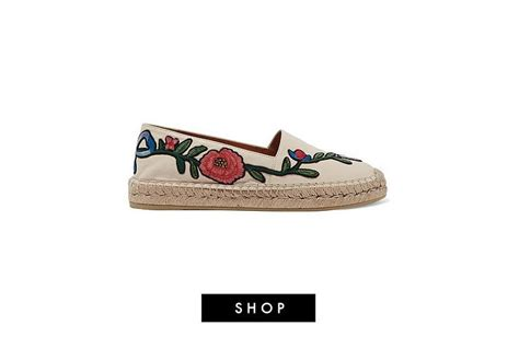 Gucci Embroidered Espadrilles Leather Summer 2017 168 how to convince your that summer is almost here yoyokulala