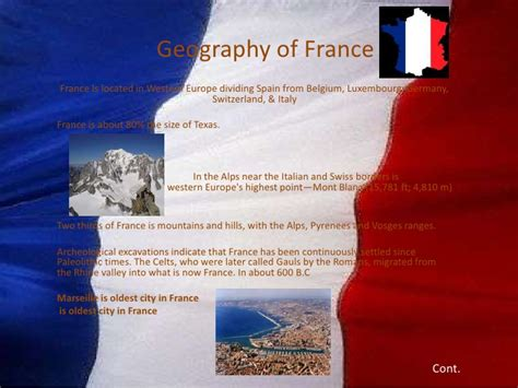 five themes of geography on france geography population of france