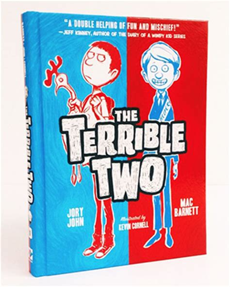 two a novel books the terrible two