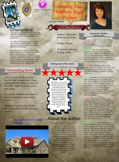 among the book report glogster multimedia posters educational content