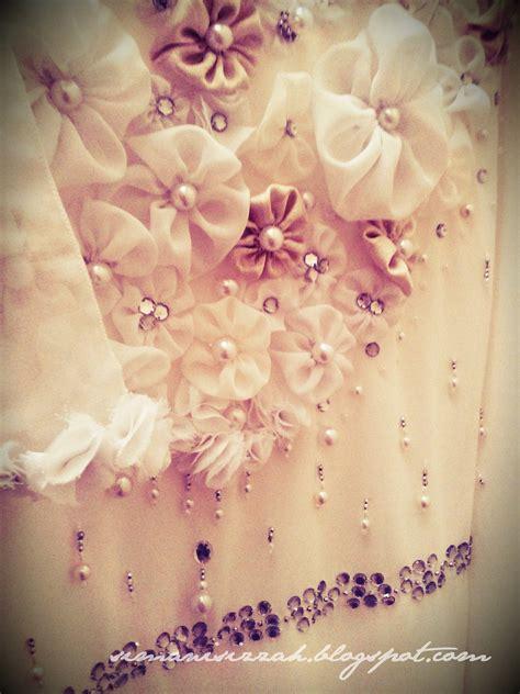 design baju bunga 3d izzah bedazzling project 3d flower solemnization dress