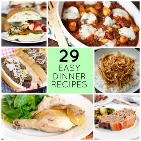 dinner recipes for 8 29 easy recipes for dinner tonight food fanatic