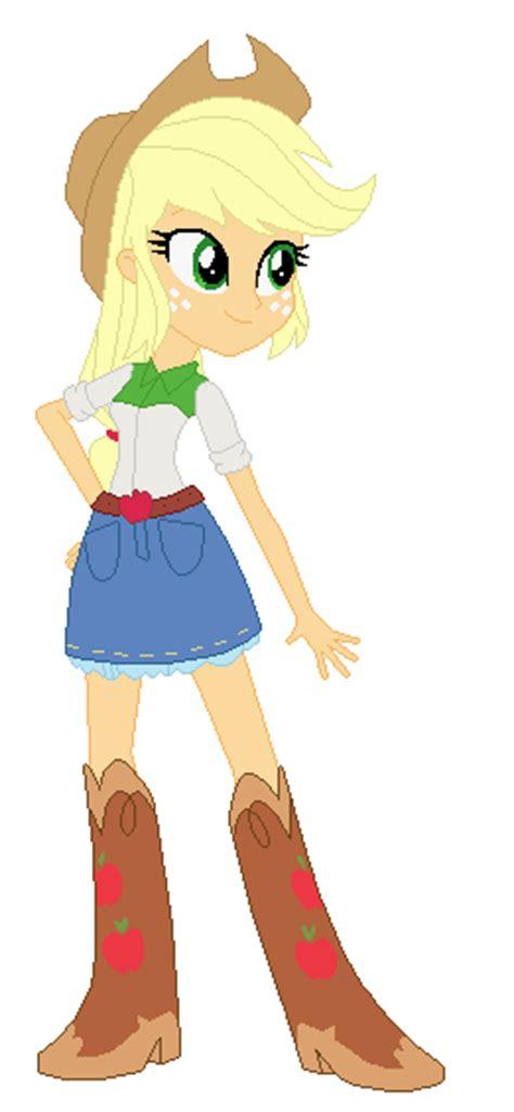 imagenes de equestria girl rockeras applejack equestria girls rainbow rocks by