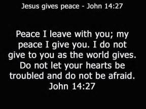 John 14 27 bible verse about peace free christian wallpapers
