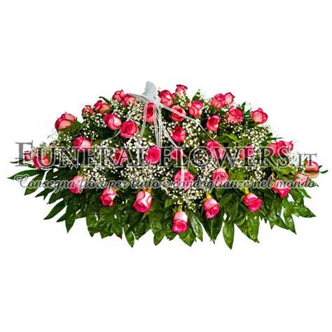 cuscino per funerale cuscino floreale rosa per lutto e morte di una donna