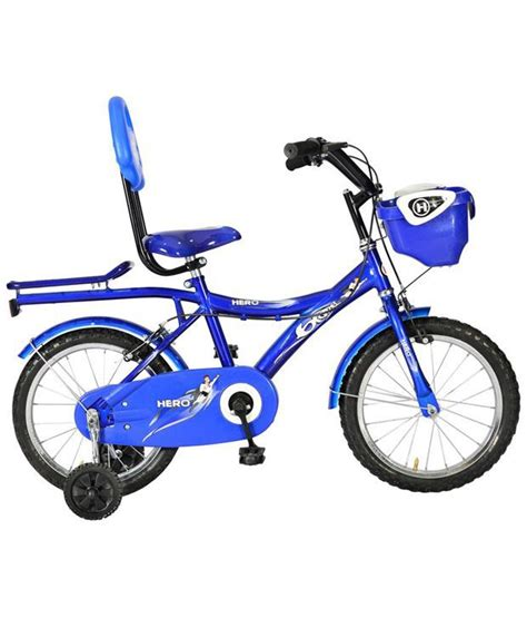Raket Rs Blaze 300 blue white blaze 16t junior bicycle buy at best price on snapdeal