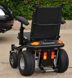 The electric wheelchair