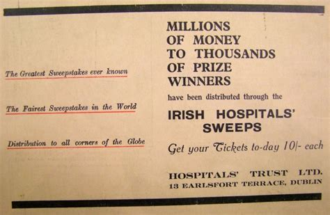 Irish Hospital Sweepstakes - cllr kieran mccarthy 187 blog archive 187 kieran s our city our town 2 december 2010