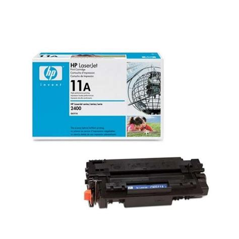 hp 11a black original laserjet toner cartridge q6511a for